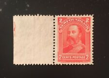 Stamps Canada Newfoundland Sc82 2c carmine King Edward VII. See description