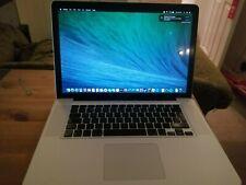 Macbook Pro Late 2008 15 Inch - Core 2 Duo - 4GB Ram - GeForce 9600M GT - NO HDD
