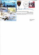 1994 OPERAZIONE OVERLORD FORZE AEREE FDC-SPECIALE PMK-firmato da Johnnie Johnson