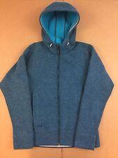 Outdoor Research Women's Wool Blend Blue Zip Sleeve Jacket Medium
