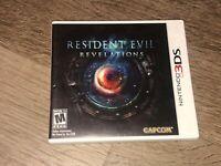 Resident Evil Revelations Nintendo 3DS Complete CIB Authentic