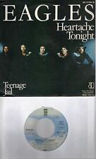 THE EAGLES Heartache Tonight / Teenage Jail  GERMAN Import 45 with PicSleeve