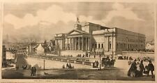 Public Library and Museum, Liverpool. Wood Engraving, 1860.