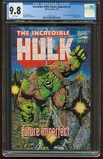 INCREDIBLE HULK: FUTURE IMPERFECT #1 & #2 CGC-9.8 NEAR MINT/MINT JAN1993 G-344