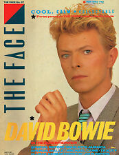THE FACE 37 5/1983 DAVID BOWIE Michael Caine SPANDAU BALLET Gene Anthony Ray N/M