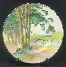 "Royal Doulton Gum Trees B Circa 1929-67 D6309 Series Ware Rack Plate 10.5"" Wide"