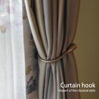 Zinc Alloy LARGE STYLISH CURTAIN HOLD BACK Metal Tie Tassel Arm Hook Loop Holder
