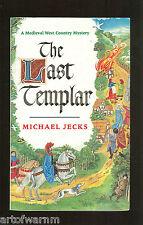 THE LAST TEMPLAR- Medieval mystery bk 1 - Michael Jecks  1st UK SB VG