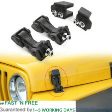 Hood Latch Hood Lock Catch Hood Latches Catch Kit for Jeep Tj Wrangler 1997-2006