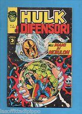 SUPER EROI - HULK E I DIFENSORI - CORNO -N.6- 29 MAGGIO 1975 - NON DI RESA