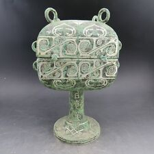 China.collection, Han dynasty.Cuo Silver,bronze.Incense burner&vase  R69*