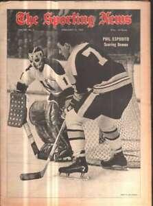 The Sporting News Newspaper Feb 15, 1969 Scoring Demon Phil Esposito