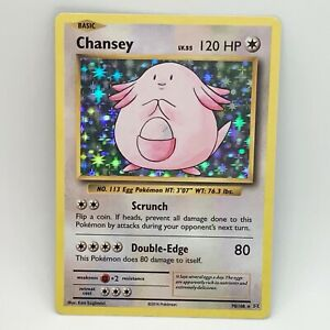 Chansey 70/108 - Holo - XY Evolutions - Pokemon Card - NM