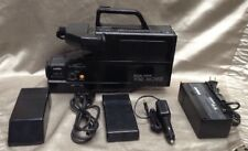 Vintage HQ VHS Video Recorder Camcorder W/charger, Case, Remote 4450A.