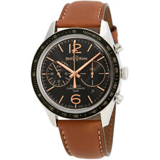 Bell and Ross Vintage Automatic GMT & Flyback Mens Chronograph Watch