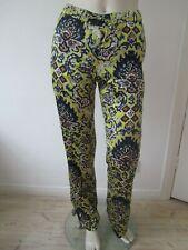 New Dries Van Noten Pixel Print Satin Trousers