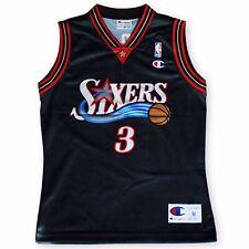 NBA PHILADELPHIA SIXERS 76ERS BASKETBALL SHIRT JERSEY CHAMPION ALLEN IVERSON #3