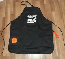 New BUDWEISER BBQ QUEBEC  Apron GRILL MASTER Kit Bottle Opener  Koozie Pocket