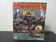 MechWarrior 4: Vengeance  (PC, 2000) *Tested/Complete/Big Box