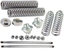 V-FACTOR CHROME PLATED COMPLETE SPRING REPLACEMENT PARTS FOR WIDE STYLE SPRINGER
