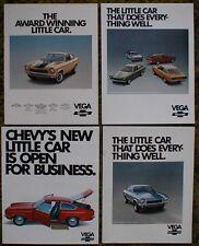 1971 1972 1973 Chevrolet Vega 4 Brochure Lot