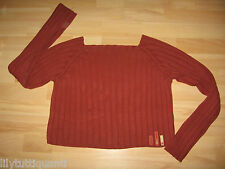 CAPTAIN TORTUE - Pull rouge col carré - Taille 38 - TBE !!!!