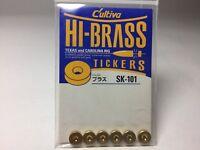 OWNER C'ultiva HI-BRASS TICKERS Gold 6pcs SK-101