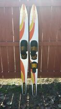 """""""Water Skis"""" O'Brien Performers Combo Vintage 170 cm"""