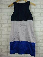 FRENCH CONNECTION Dress Sz UK12 [AU10] Blue, Grey
