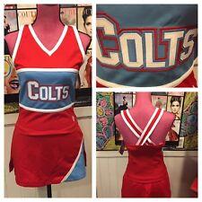 "Nwts Colts Real Cheerleading Uniform 34""26"""