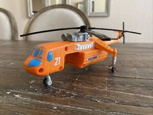 """Matchbox 11"""" Volcano Recuse Helicopter (2017, Mattel) Copter ONLY, No Playset!"""