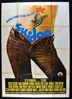Werbeplakat Skidoo 1 Ediz. 1969 Ackie Gleason Carol Channing Acht Preminger M18