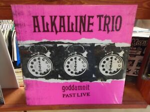 Alkaline Trio Goddamnit Past Live LP NEW PINK Colored vinyl [Matt Skiba Punk]