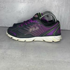 Fila DLS Foam Cool Max Women's Running Walking Shoes Size 8 Gray Purple