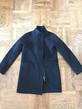 J. Crew Stadium Cloth Cocoon Coat 00 Black