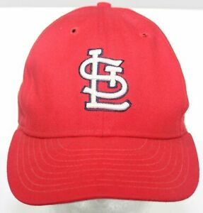 Vintage St. Louis Cardinals New Era Dupont Visor Pro Model Hat Fitted Cap 7 1/8