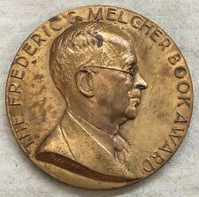 Unitarian Universalist Assoc. Melcher Book Award Medal, 1964 by Gilroy Roberts