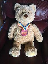 "Collectible Gund ~ ""WISH BEAR 2003 COURAGE""  large TEDDY BEAR"