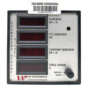 VAF instruments Vermogens Afname Diesel