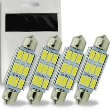 4x Ampoule C5W LED 41mm Navette 9 SMD Blanc 6500K Canbus coffre Habitacle 12V