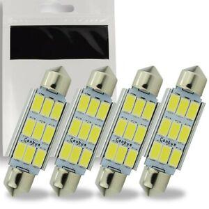 Ampoule C5W LED 36mm Navette Blanc 6500K Canbus pour Coffre Habitacle 9 SMD