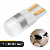 10pcs Canbus T10 LED Bulb W5W 3030 SMD White Car Width Light Interior Lamp 12V