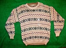 Men's Resslute Bay all cotton hand frames crew neck sweater made in USA size M
