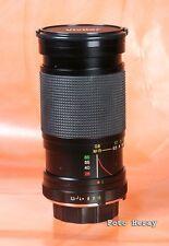 Vivitar mc 28-85 mm 3,5 -- 4,5 macro lente de zoom para x-700 xd7 2335