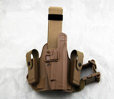 Tactical Drop Leg Thigh Right-hand Holster With 2 Pouches For Colt 1911 M1911