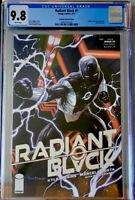 RADIANT BLACK #1 KIRKHAM VARIANT COVER SILVER FOIL CGC 9.8 COMIC VAULT LIVE