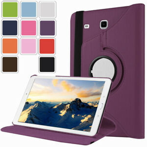 """For Samsung Galaxy Tab E 8.0"""" T377 / 9.6"""" T560 Leather Rotating Stand Case Cover"""