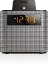 Philips Bluetooth Speaker Dual Alarm Clock FM Radio Built-in MIC USB Charger