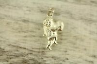 VINTAGE PUFFY CHERUB HEART CHARM Sterling Silver 925 GREAT ONE FOR BRACELET-S929