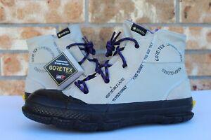 Men's Converse Chuck Taylor MC18 Gore-Tex Boot Hi Brown Black Purple 165938C